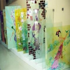 烟台玻璃平面UV喷绘 烟台玻璃印刷